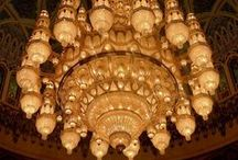 Large and unusual chandeliers / Some fantastic photos and facts on large chandeliers and unusual lighting - may give you a few interior design ideas!