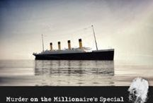Murder on the Millionaire's Special! / It is April 11th, 1912. The RMS Titanic has docked in Queenstown, Ireland, one of its last stops before heading on to New York. There is much jubilee and celebration aboard the ship tonight! The owner, Mr. Morgan, is hosting an elaborate gala event to show off his newest lady during her maiden voyage! In celebration of this wondrous event The Heart of the Ocean jewel, a 170 carat sapphire and diamond piece of jewelry will be on display.