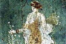 Mundo romano - vestimentas / https://es.wikipedia.org/wiki/Indumentaria_(Roma_Antigua) http://www.imperivm.org/articulos/vestimenta.html