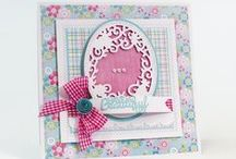 Tonic // Sew Pretty / Inspiration for our new Sew Pretty Die Collection, join Jodie today from 2pm on C&C :)