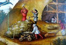 Historischer Bergbau / Bergleute und Bergbau in historischen Darstellungen