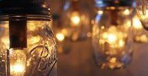 Luminaires / lampes, luminaires, éclairages... à faire soi-même pour une douce ambiance.
