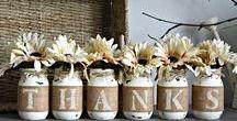 HOLIDAY SEASON / Holiday Ideas for Thanksgiving & Christmas