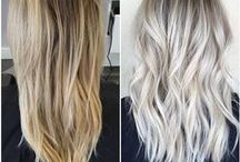 Silver Hair Styling Ideas / You need inspiration for your hair? Shampoo.ch created the perfect board for you!