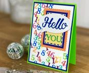 Tonic // Alphabet and Numbers Stamps / The Alphabet and Numbers Stamps from Tonic Studios. A little lettering to finish your cards perfectly....
