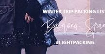 WINTER PACKING LIST / Winter packing list to pack light for your next winter trip! This light packing list is for four days in the winter season & can fit in a carry-on. I took these items with me on my trip to Barcelona!