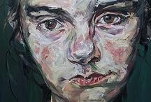 Portraits portretten / Portretten en hoofden geschilderd, in grafiek en in keramiek