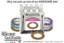 WGM Kits / Kits include rings, clasps, beads and instructions to make your own chainmaille jewelry.