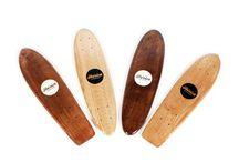Handcrafted skateboard