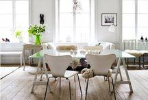 • Inspiration Essen • / Esszimmer, Tische und Stühle