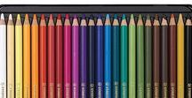 Pastel Pencils | Brands and Comparison / The best pastel pencils on the market for producing bright and colourful artwork: http://colinbradleyartstore.co.uk/product-category/pastel-pencils/