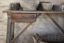 Wabi Sabi / I would love to live in a house full of these objects, as the house where I grew up!