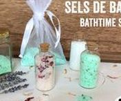 Sels de bain • Bath salts