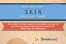 Be KIND to your skin / The fastest way to feeling body positive is to be kind to your skin...