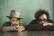 Jhonny Deep & Tim Burton / Tim Burton/ Jhonny Deep/ Movies/ Pictures