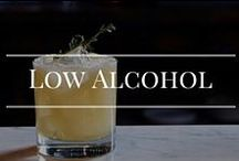Low Alcohol cocktails / Yummy cocktails with less booze.