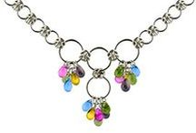 Chainmaille Necklaces / Adorning the neck with beautiful chainmaille