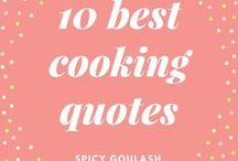 Cooking Quotes / Cooking quotes about love, fun, and obviously from Julia Child...