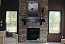 Fireplaces / Different Styles of Fireplaces / by Cypress Homes, Inc.