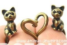 Adorable Animal Jewelry! / For super cute animal jewelry please visit us at: http://dotoly.storenvy.com/