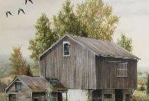 barns / by Polly Groves