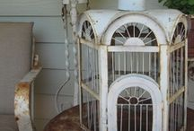 Collect | Birdcages / Pretty birdcages, aren't just for the birds anymore!