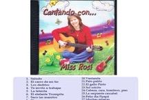 Cd's en español / Musica, libros que incluyen un Cd. / by Growing Bilingual