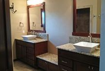 Bathrooms / Different bathroom ideas / by Cypress Homes, Inc.