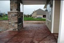 Outdoor Spaces / Pools, decks, patios, yards, landscaping / by Cypress Homes, Inc.