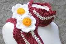 Create | Crochet Capes, Capelets, Cowls, Neckwarmers, Ponchos, Scarves, Scarflettes, & Shawls / Neckwear, duh.