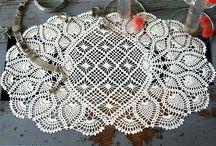 Create | Crochet Home Decor / Curtains, tablecloths, doilies, afghans, rugs