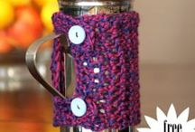 CREATING | Crochet Accessories, Gifts / Bath items, mughuggers, home decor / by Kim Puffpaff