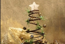 Christmas | Trees / So many styles, so little time!  Everything from tree-themed décor to decorating actual Christmas trees