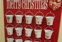 Christmas | Advent Calendars / The great countdown, someday I will have my act together to do something fun like these ideas