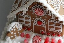 Christmas | Gingerbread / Houses & other things out of gingerbread!