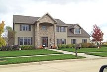 Exteriors / Different home exteriors / by Cypress Homes, Inc.