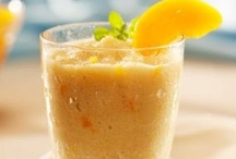 | boisson aux fruits | / fruit smoothies! / by Carol Cottrill, CNC