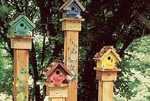 GARDEN | For the Birds / Birdhouses / by Kim Puffpaff