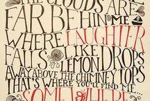 fonts, monograms & chalkboard / by Karen Egeberg