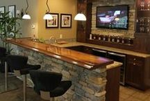 Bars / Grab a drink at one of these home bars! / by Cypress Homes, Inc.