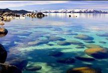 Crystal Clear Tahoe Water