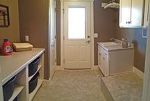 Laundry Rooms / by Cypress Homes, Inc.