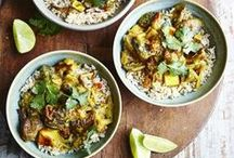 Vegetarian recipes / We have a great range of delicious vegetarian recipes; all of our vegetarian meals are based on guidelines from The Vegetarian Society at JamieOliver.com