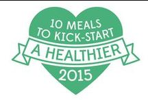 10 healthy meals for 2015 / The new year is a time for new starts. We've all made promises to eat better at some point or another, but this time we're going to help you kickstart your healthier 2015 – with 10 great recipes from me and my friends.   jamieoliver.com/10healthymeals
