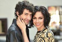 26 años juntos: Benny Ibarra y Celina del Villar / Veintiséis años después, siguen tan enamorados como el primer día.