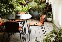 Tait's Courtyard Gardens / An assortment of Tait's planters and accessories can bring life into any terrace or courtyard space.  / by Tait.