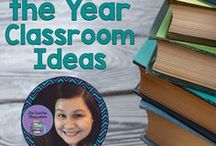 End of the Year Classroom Ideas & Resources / A collection of End of the Year Classroom Ideas and Resources that are great for any grade level or content area teacher!