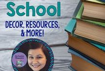 Back to School Decor, Resources, and More! / Everything you need for Back to School!