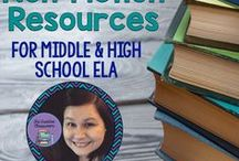 Non-Fiction Resources and Ideas / Non-Fiction resources and ideas for Middle and High School ELA classrooms and teachers