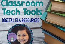 Creative Classroom Tech Tools TM: Digital ELA & Middle School Resources / Creative Classroom Tech Tools TM is a new product line from The Creative Classroom that includes digital ELA and Middle School resources for Google Drive.